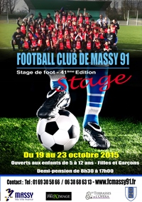 Affiche stage octobre 2015